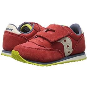 [サッカニー] キッズカジュアルシューズ・靴 Originals Jazz Hook & Loop (Toddler/Little Kid) Red/Blue/Lime (14.5cm) M [並行輸入品]
