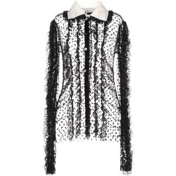 《セール開催中》PHILOSOPHY di LORENZO SERAFINI レディース シャツ ブラック 38 ナイロン 100% / シルク