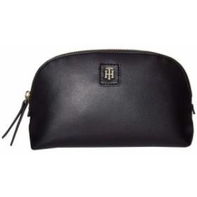 トミー ヒルフィガー Tommy Hilfiger レディース ポーチ 化粧ポーチ Julia Smooth PVC Cosmetic Bag Black