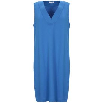 《セール開催中》GRAN SASSO レディース ミニワンピース&ドレス アジュールブルー 40 コットン 94% / ナイロン 6%