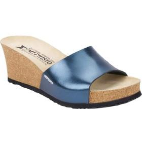 [メフィスト] シューズ サンダル Lise Wedge Slide Sandal Blue Star レディース [並行輸入品]