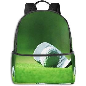 リュック リュックサック PCバック ビジネスリュック 大容量 ラップトップ バックパック 男女兼用 アウトドア旅行防水 ゴルフボールパター