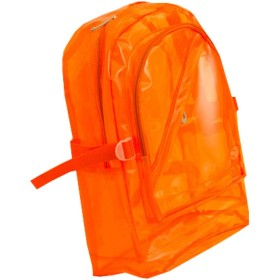 透明バッグ 透明リュック メンズ レディース 男女兼用 リュックサック クリア 透明 ナップザック シースルー PVC 大容量 防水 多機能 軽量 通学 通勤 街歩き 16インチ カラー4