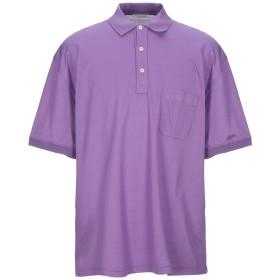 《期間限定セール開催中!》GRAN SASSO メンズ ポロシャツ ライラック 56 コットン 100%