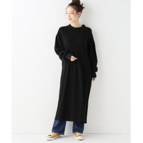 BONUM C THERMAL H/N DRESS ブラック フリー