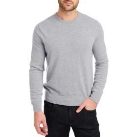メンズ ニット セーター 無地ラウンドネック ニット 長袖 メンズ トレーナー トップス 秋物 シンプル ボトミングシャツ グレー ブラック ホワイト ワイン 4色