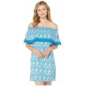 ハットレイ Hatley レディース ワンピース ワンピース・ドレス Olivia Dress Block Medallion Blue