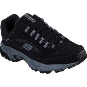 [スケッチャーズ] シューズ スニーカー Stamina Woodmer Sneaker Black/Char メンズ [並行輸入品]
