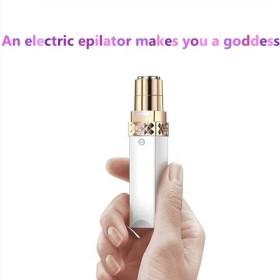 女性のためのひげリムーバー、フェイス&ボディ・フェイシャル脱毛器のバッテリーのための完璧なひげトリマーが含まれています