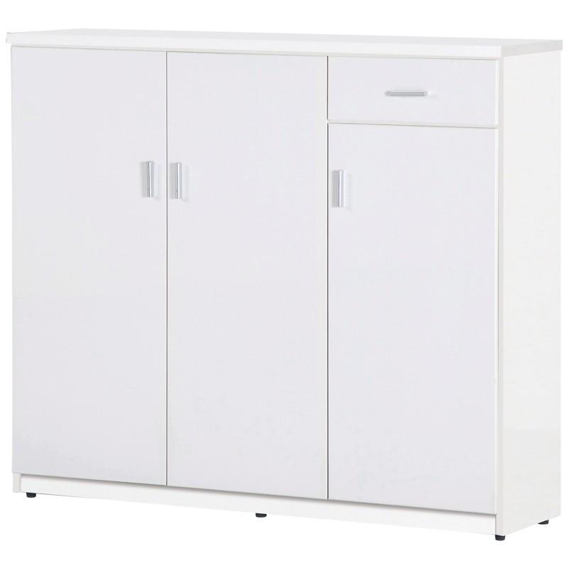 【C988-07】塑鋼大鞋櫃(SH-401)(白色)
