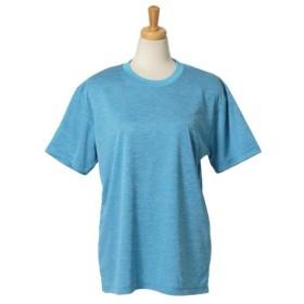 (REAL STYLE/リアルスタイル)4.1オンスドライアスレチックTシャツ/レディース ブルー