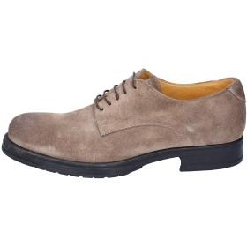 [SALVO BARONE] エレガントな男の子の靴 メンズ スウェード ベージュ 29.5cm