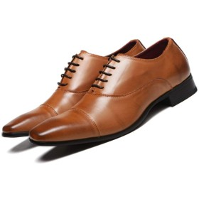 [シュウカ] ドライビングシューズ メンズ 大きいサイズ ローファー スリッポン ビジネスシューズ 紳士靴 ライトブラウン カジュアル 27.5cm モカシン 防滑 軽量 走れる 疲れにくい 脱げ防止 ソフトクッション 淺口 ローファー
