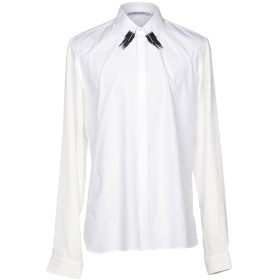 《セール開催中》NEIL BARRETT メンズ シャツ ホワイト S コットン 100%