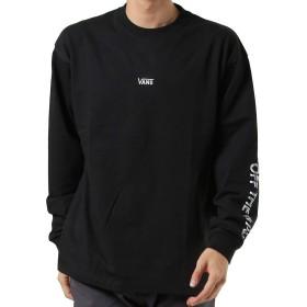 VANS バンズ メンズ 長袖 Tシャツ VA19FW-MT04 BLACK M