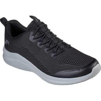 [スケッチャーズ] シューズ スリッポン・ローファー Ultra Flex 2.0 Kelmer Sneaker Black/Gray メンズ [並行輸入品]