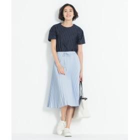 自由区 L(ジユウク エル)/GARUDA TWILL プリーツスカート