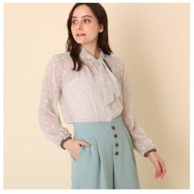 【クチュール ブローチ/Couture brooch】 【WEB限定販売】星柄ボウタイブラウス