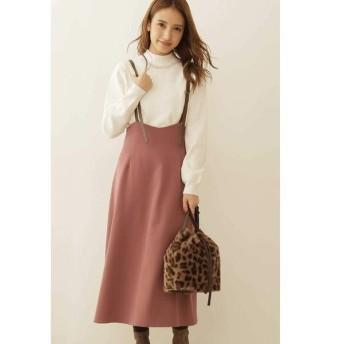 PROPORTION BODY DRESSING / プロポーションボディドレッシング  ◆バックリボンジャンパースカート