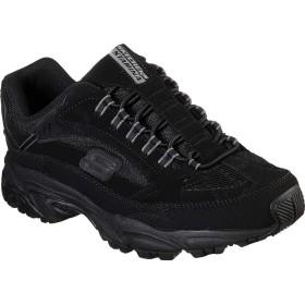 [スケッチャーズ] シューズ スニーカー Stamina Woodmer Sneaker Black/Blac メンズ [並行輸入品]