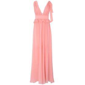 《セール開催中》PINKO UNIQUENESS レディース ロングワンピース&ドレス ピンク 38 78% コットン 22% シルク