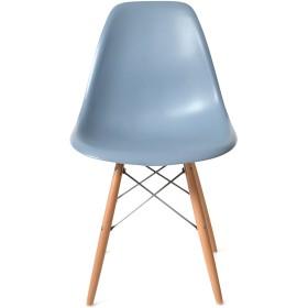 DSW ブルーグレー サイドシェルチェア/Shell Side Chair イームズ PP(強化ポリプロピレン)