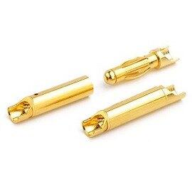 AMASS艾邁斯 GC4011 4.0mm香蕉插頭 / 鍍真金模型插頭 ---公頭. 母頭一對裝(含稅)【佑齊企業 iCmore】