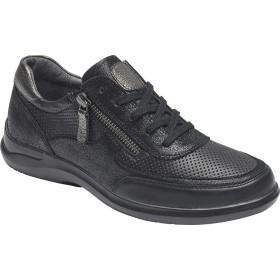 [アラヴォン] シューズ スニーカー Power Comfort Tie Sneaker Black Leat レディース [並行輸入品]