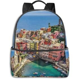 カジュアルバックパックファッションバックパック大容量学校レジャー旅行アウトドアビジネスワークコンフォートユニセックス イタリア6