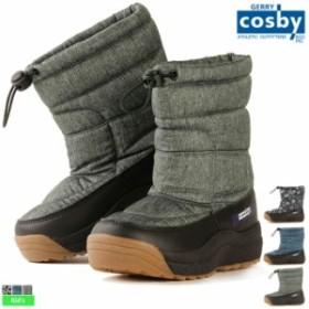 ブーツ コスビー cosby ジュニア キッズ 耐水圧5000mm スパイク付 スノーブーツ CSSNB-43 1910 ブーツ