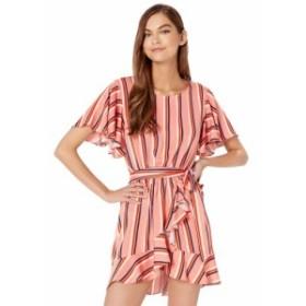 ジャック バイ ビービーダコタ Jack by BB Dakota レディース ワンピース ワンピース・ドレス Stripe Three Dress Rosette Pink