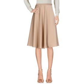 《セール開催中》NINEMINUTES レディース ひざ丈スカート サンド 2 ポリエステル 80% / コットン 20%