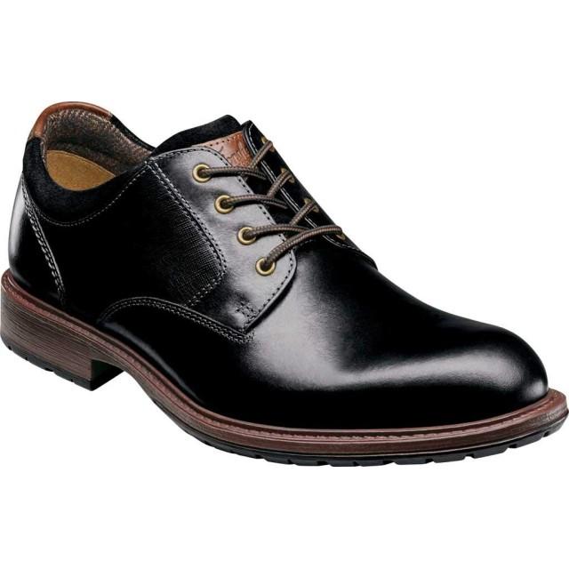 [フローシャイム] シューズ オックスフォード Vandall Plain Toe Oxford Black Leat メンズ [並行輸入品]