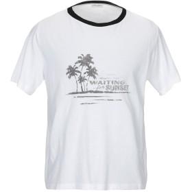 《セール開催中》SAINT LAURENT メンズ T シャツ ホワイト S コットン 100%