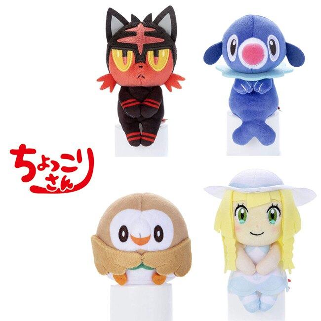 【日本正版】寶可夢 排排坐玩偶 拍照玩偶 公仔 坐坐人偶 神奇寶貝