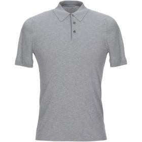 《セール開催中》GRAN SASSO メンズ ポロシャツ グレー 46 コットン 100%