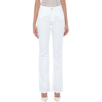 《セール開催中》ANNA RACHELE JEANS COLLECTION レディース パンツ ホワイト 46 コットン 97% / ポリウレタン 3%