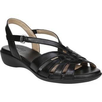 [ナチュライザー Naturalizer] シューズ サンダル Neka Strappy Sandal Black Leat レディース [並行輸入品]