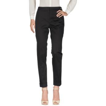 《セール開催中》CAVALLI CLASS レディース パンツ ブラック 42 コットン 98% / ポリウレタン 2%