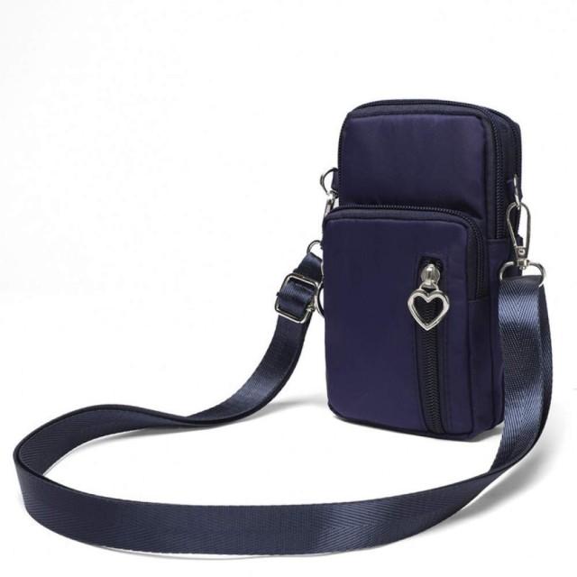 AYATR財布ハンドバッグ女性マルチポケットオックスフォードシングルショルダーバッグカジュアルレディースミニクロスボディバッグ携帯電話コインポケットナイロントラベルバッグ
