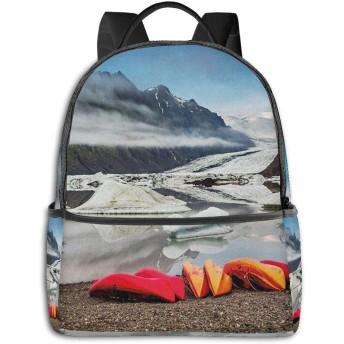バックパック メンズ レディース ビジネス おしゃれ 高校生 通勤 大容量 多機能 盗難防止 防水 通学 旅行鞄 アイスランド北部気候