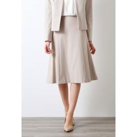 AMACA 【XSサイズ~】【LADY SKIRT】メランジポンチ スカート その他 スカート,ベージュ
