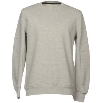 《セール開催中》RVLT/REVOLUTION メンズ スウェットシャツ グレー L コットン 93% / ポリエステル 7%