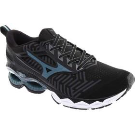 [ミズノ] シューズ スニーカー WaveKnit C1 Running Shoe Black/Stor メンズ [並行輸入品]