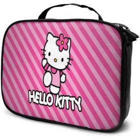 Daituハローキティの愛 化粧品袋の女性旅行バッグ収納大容量防水アクセサリー旅行
