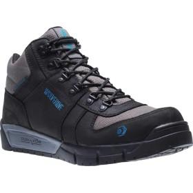 [ウルヴァリン] シューズ ブーツ・レインブーツ Mauler Hiker CarbonMax Comp Toe Work Boo Black Leat メンズ [並行輸入品]