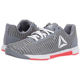 [リーボック] レディーススニーカー・靴・シューズ Speed TR Flexweave Cold Grey/White/Neon Red B - Medium [並行輸入品]