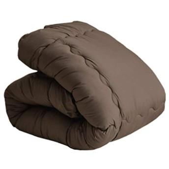 シンサレート わた入り 掛けふとん シングルロング 150×210cm ブラウン(軽量タイプ) 超暖 軽量 洗える 暖かさ羽毛の約2倍 保温力 掛ふとん 高機能中わた入り あったか ウォッシャブル 掛布団 3M(TM)Thinsulate ピーチスキン加工 新生活 丸洗いOK 車中泊 寝具