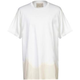 《期間限定セール開催中!》CORELATE メンズ T シャツ ホワイト XL コットン 100%
