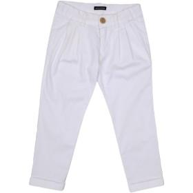 《セール開催中》TAGLIATORE ボーイズ 3-8 歳 パンツ ホワイト 3 コットン 97% / ポリウレタン 3%